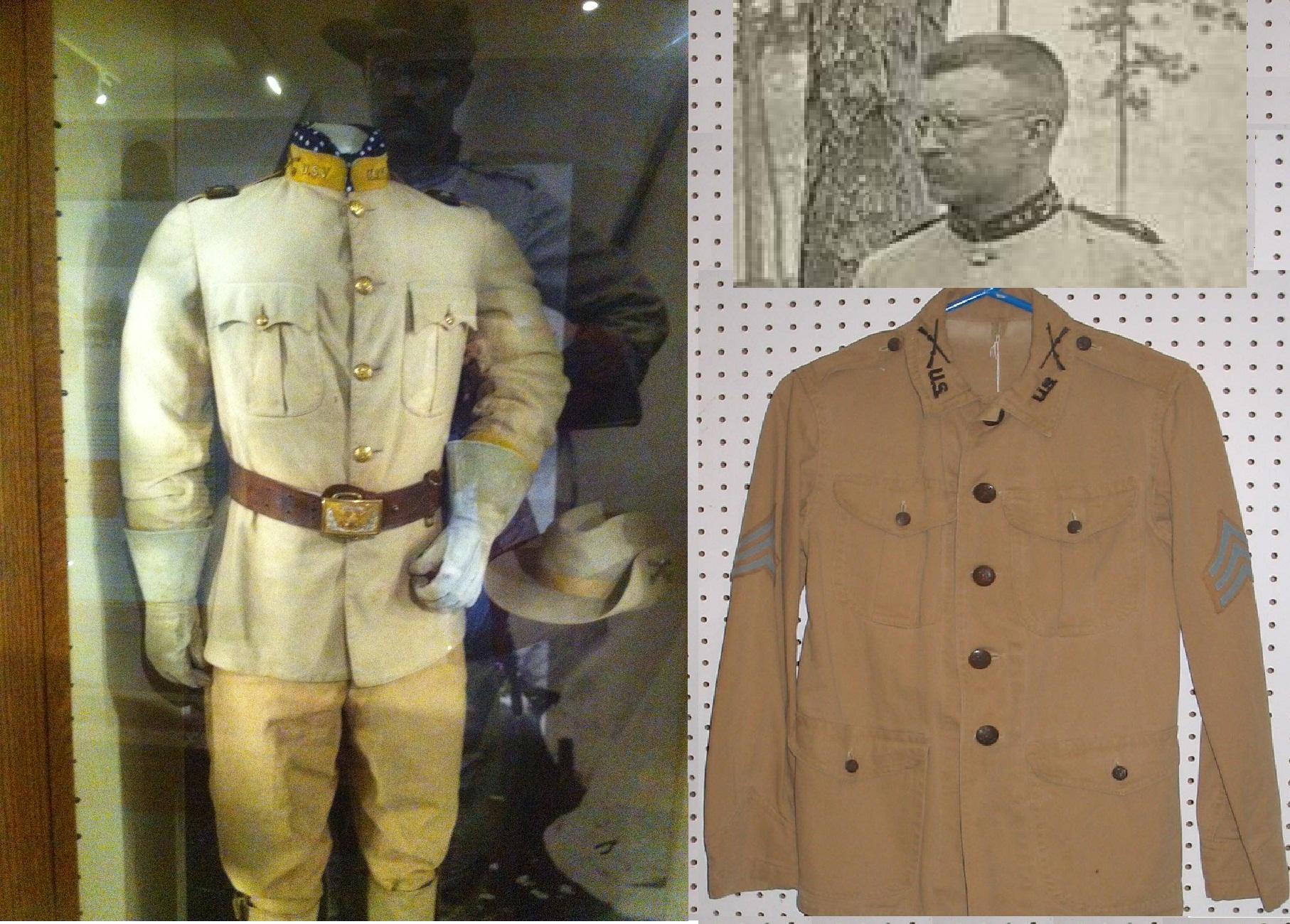 tr�s mark on us army uniforms theodorerooseveltorg